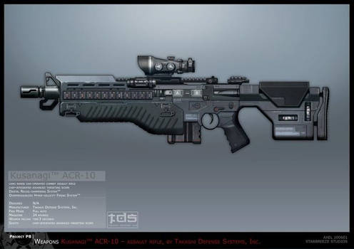 Syndicate Concept Art - Kusanagi Rifle