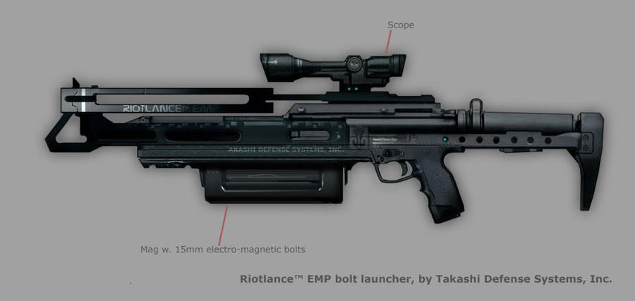 Syndicate Concept Art - Riotlance by torvenius