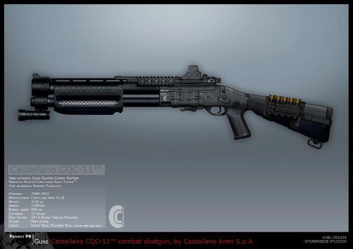 Syndicate Concept Art - Shotgun by torvenius
