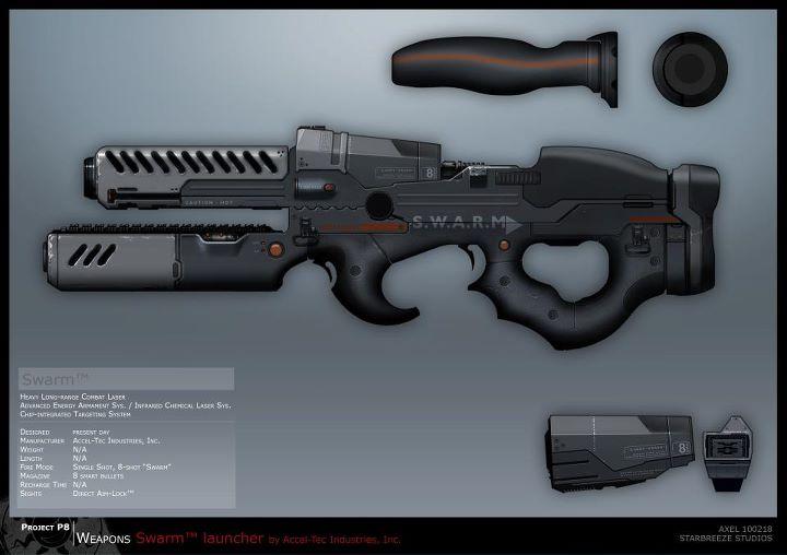 Syndicate Concept Art - SWARM by torvenius
