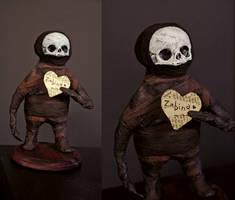 commissioned midget sculpture by torvenius