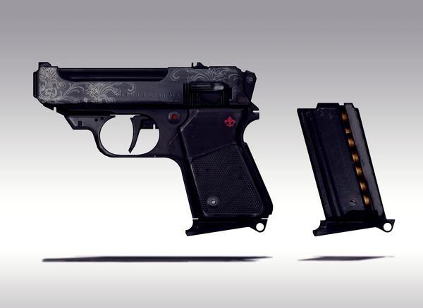 Small gun Concept i by torvenius