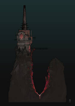 the DARKNESS Concept Art - Otherworld Castle