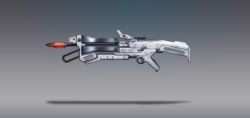 Commission Concept Art - Crossbow by torvenius