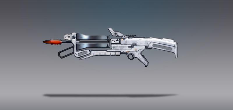 Commission Concept Art - Crossbow by torvenius