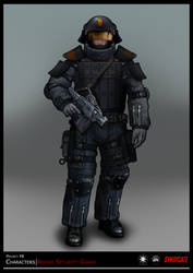 SYNDICATE concept - character guard