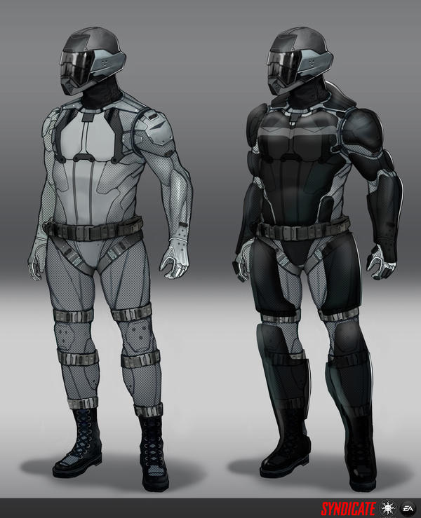 SYNDICATE concept - soldiers by torvenius