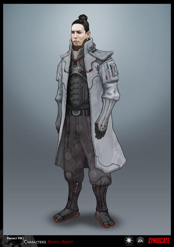 SYNDICATE concept - Enemy Agent by torvenius