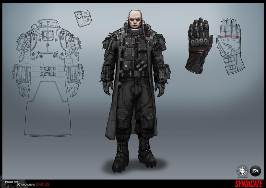 SYNDICATE concept - character DARIUS by torvenius