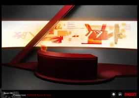SYNDICATE concept - environment news room by torvenius