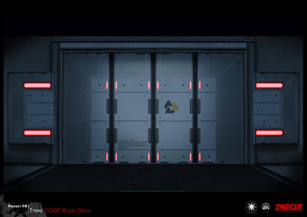SYNDICATE concept - blast door by torvenius