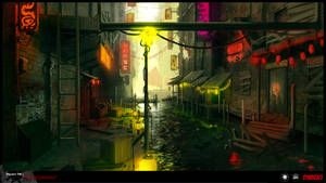 SYNDICATE concept - china town by torvenius