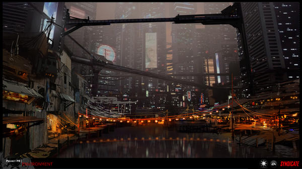 SYNDICATE concept -  harbor by torvenius