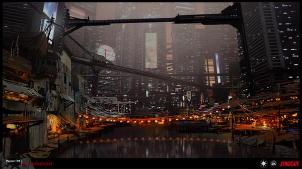 SYNDICATE concept -  harbor by torvenius