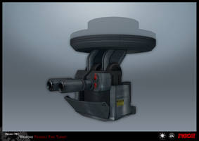 SYNDICATE concept - TURRET 1 by torvenius