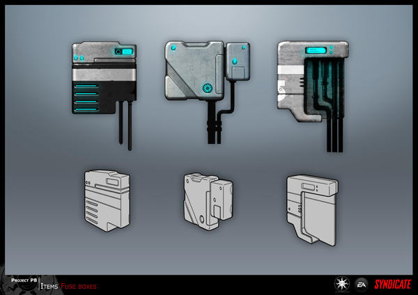 SYNDICATE concept - fuseboxes by torvenius