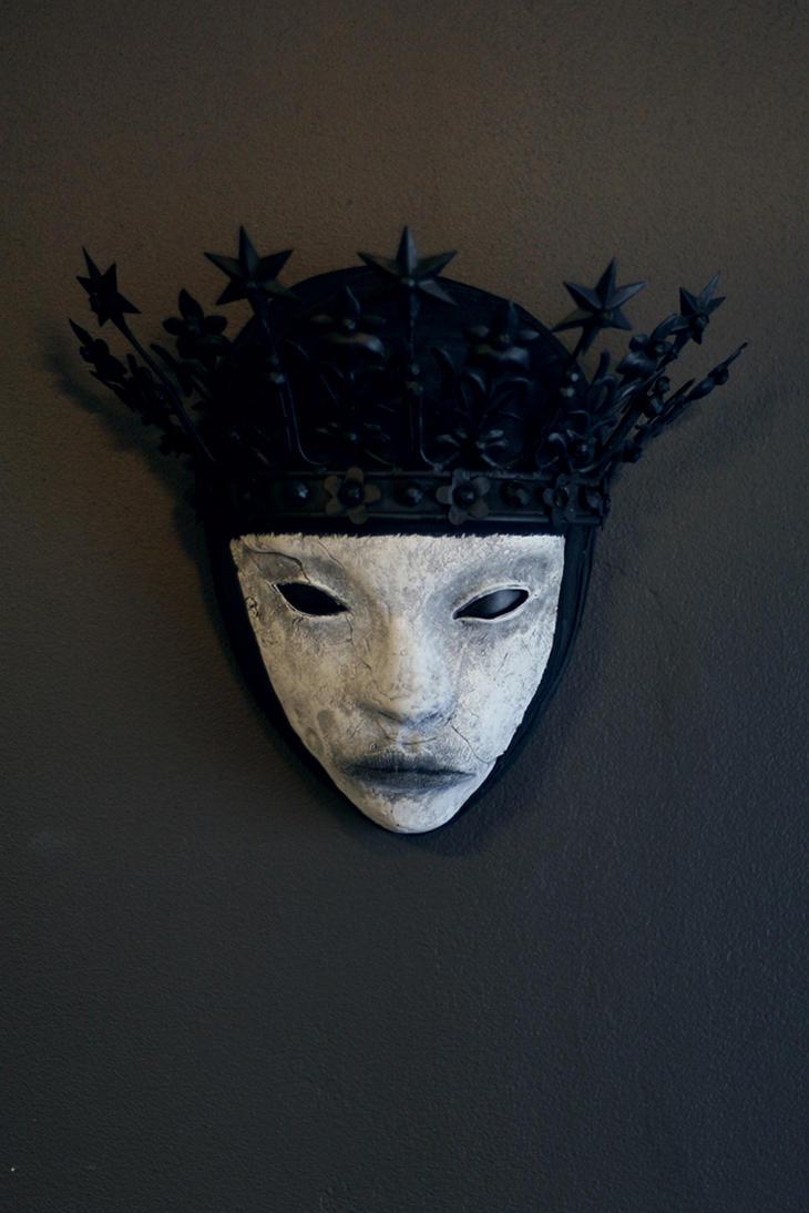mask - BLACK QUEEN by torvenius