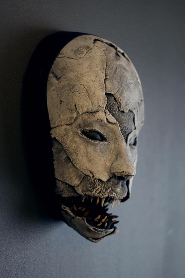 mask - SHARKGRIN i by torvenius