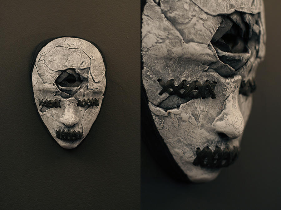 mask - UNSTITCHED 3rd EYE by torvenius