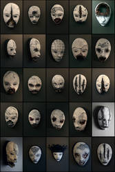 new masks from TORVENIUS by torvenius