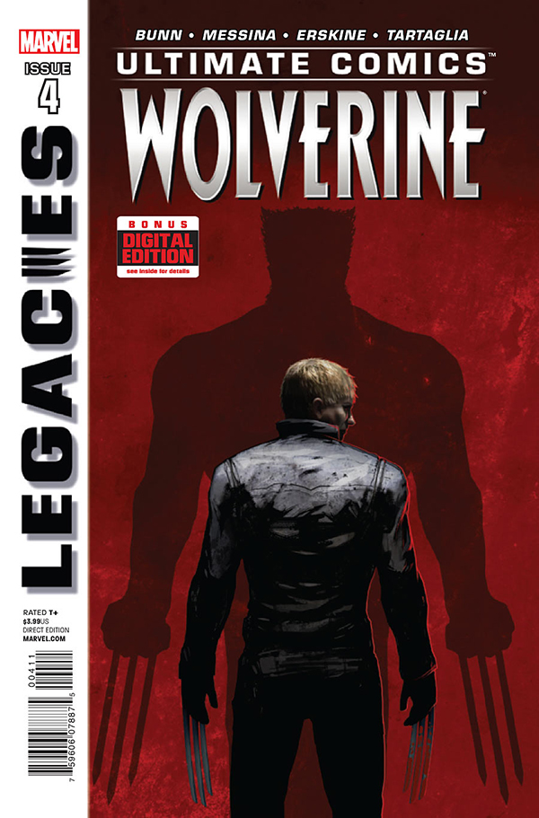 MARVEL cover - WOLVERINE # 4 by torvenius
