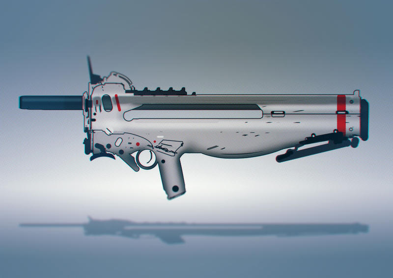 25 min speedpainted SMG by torvenius