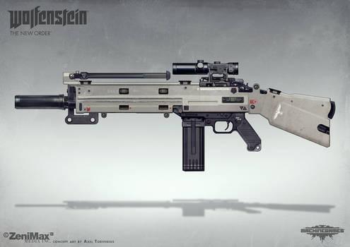 Wolfenstein: The New Order - AR Marksman rifle