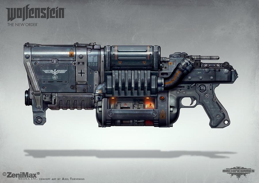 Wolfenstein: The New Order - Laserkraftwerk by torvenius