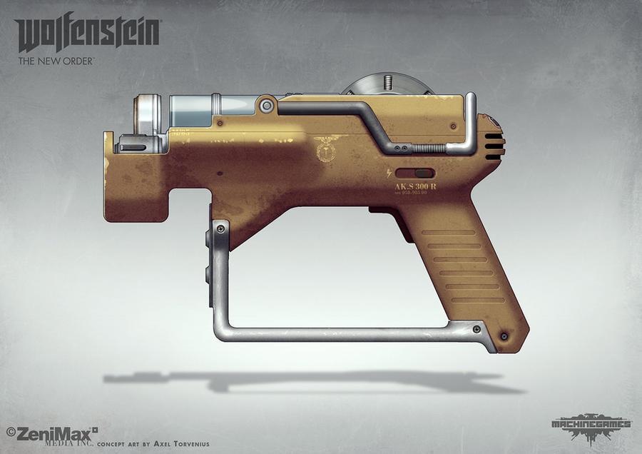 Wolfenstein: The New Order - Lasercutter by torvenius