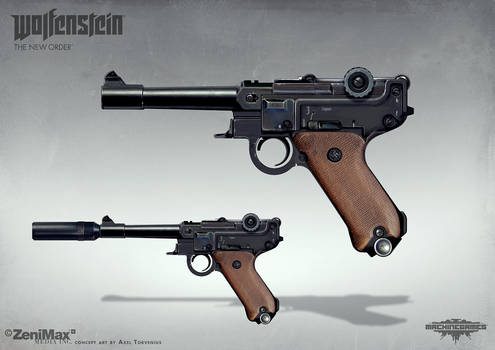 Wolfenstein: The New Order - Handgun 46