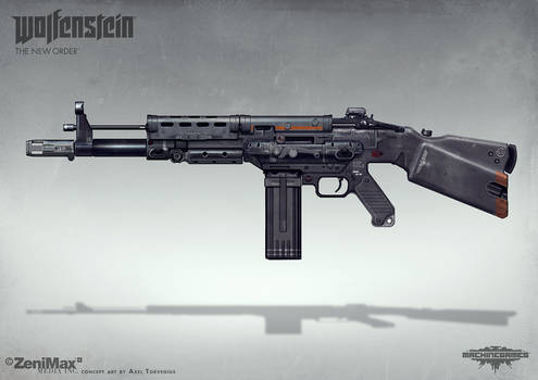 Wolfenstein: The New Order - AR 60