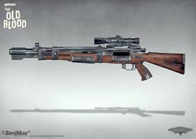 Concept art Wolfenstein - Bombenschuss by torvenius