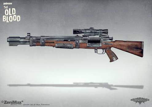 Concept art Wolfenstein - Bombenschuss