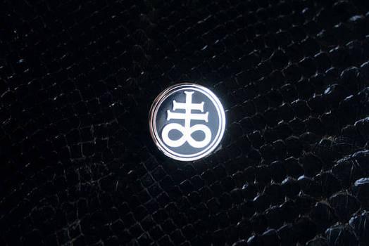 Leviathan Cross pin