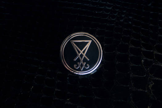 The Sigil of Lucifer pin