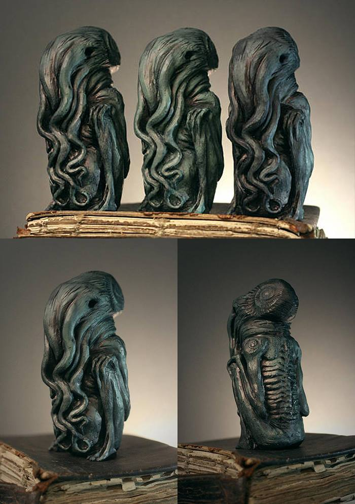 Cthulhu idol sculpture by torvenius
