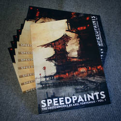 Speedpaints, the sketchworks by Axel Torvenius vol