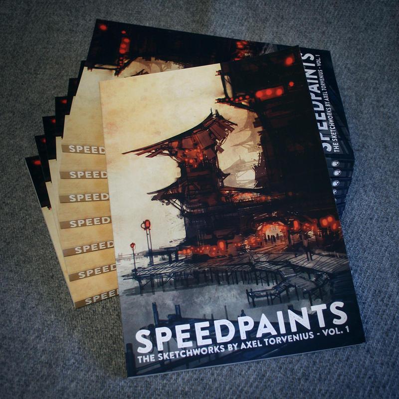 Speedpaints, the sketchworks by Axel Torvenius vol by torvenius