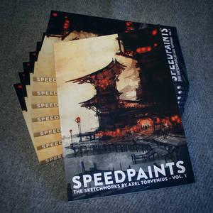 Speedpaints, the sketchworks by Axel Torvenius vol