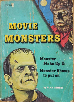 Movie Monsters book