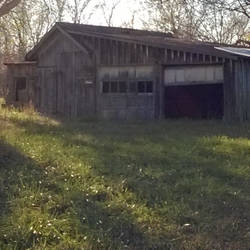 abandoned shed by slephoto
