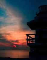 Sunrise on South Beach by slephoto