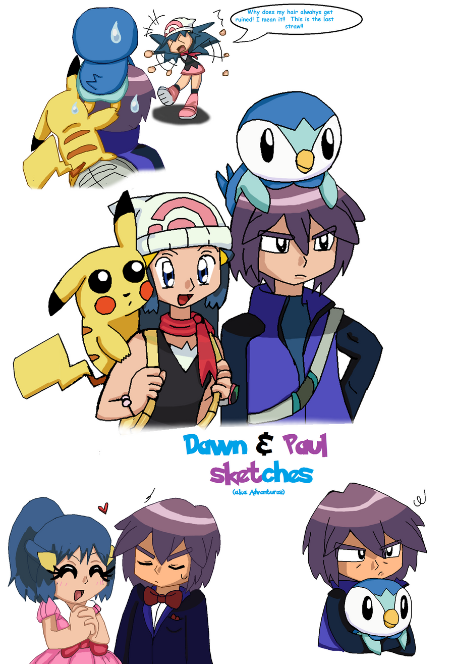 http://img06.deviantart.net/a979/i/2012/053/1/4/dawn_and_paul_sketches_by_foxyserriaangel-d4nmnf8.png Pokemon Dawn And Paul Love Story
