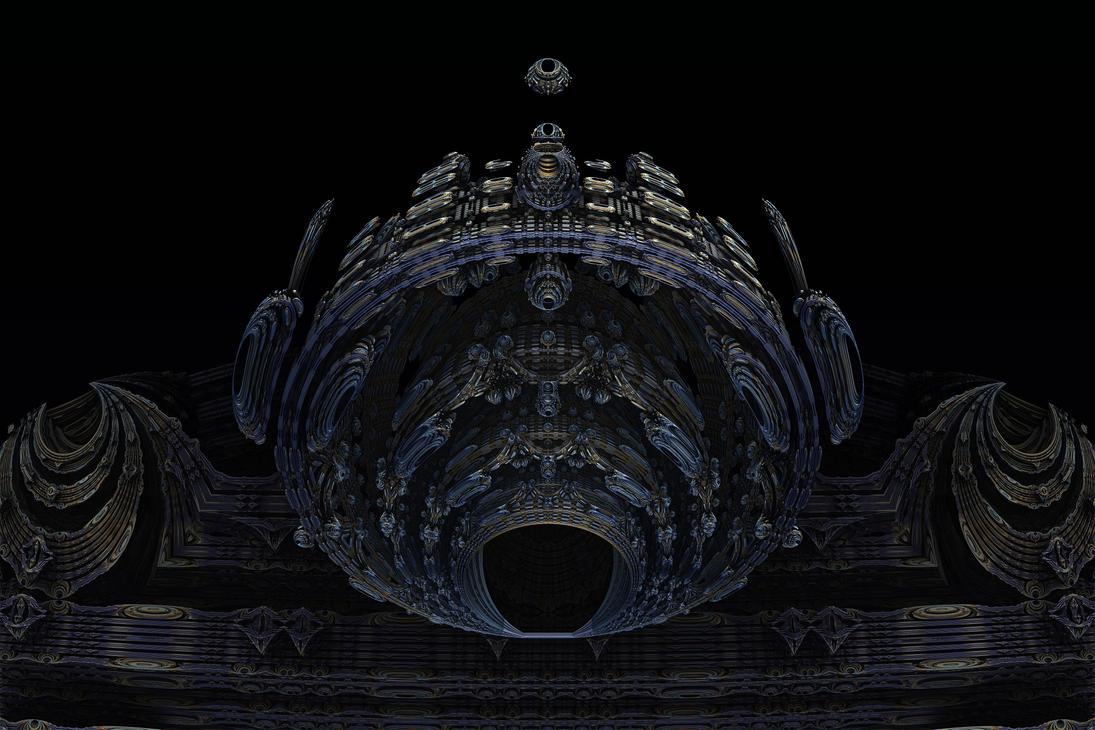 Amazing Box Race 12 - Mandelbulb 3D fractal by schizo604