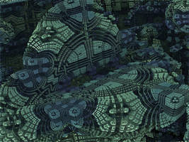 Box Menger Box 15 - Mandelbulb 3D fractal by schizo604