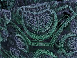 BoxMengerBox4 - Mandelbulb 3D fractal by schizo604