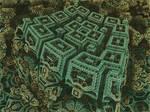 Box Menger Box Julia 1 - Mandelbulb 3D fractal