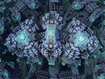 Box Menger Box 3 - Mandelbulb 3D fractal by schizo604