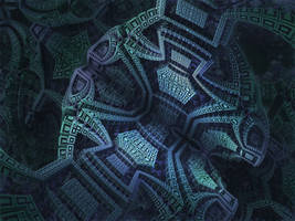Box Menger Box - Mandelbulb 3D fractal by schizo604