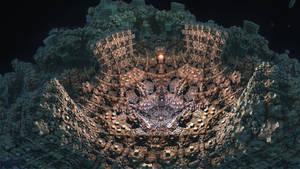 BoxMengerBox Arena - Mandelbulb 3D fractal by schizo604